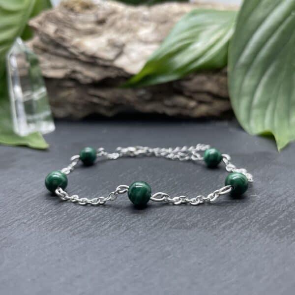 bracelet anthéa malachite
