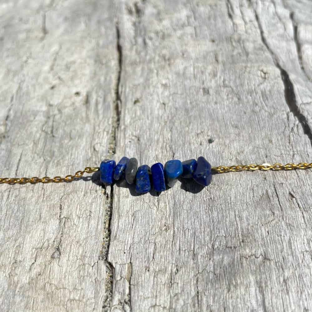 bracelet lapis-lazuli or