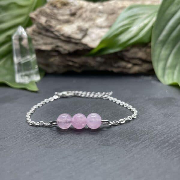 triperle quartz rose