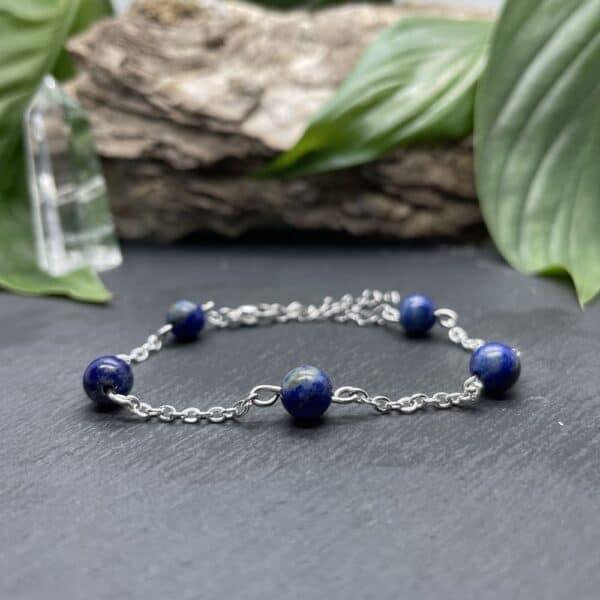 anthéa lapis-lazuli argent