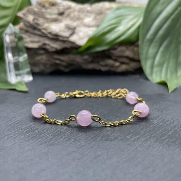 anthéa quartz rose or