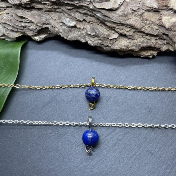 uniperle lapis-lazuli