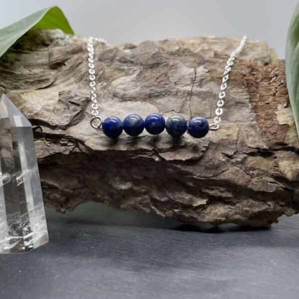 pentaperle horizontal lapis-lazuli