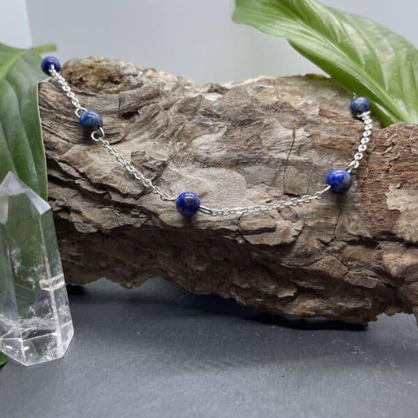 collier lapis-lazuli anthéa