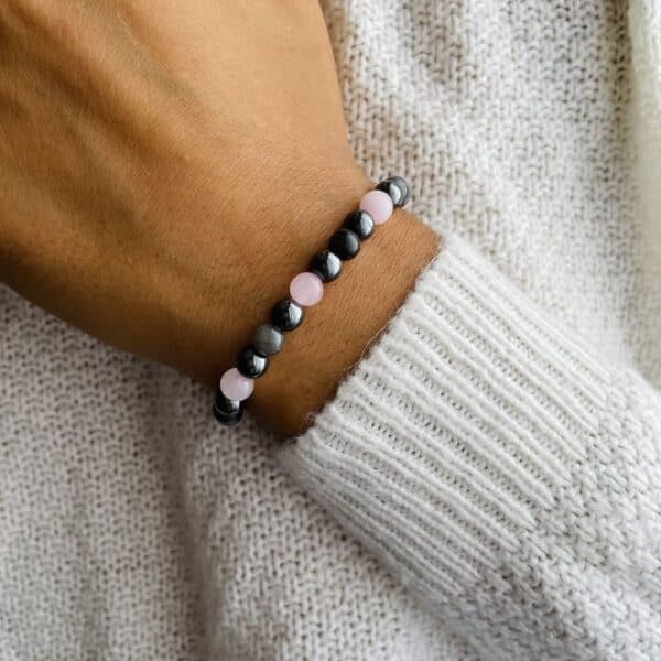 Bracelet Elastic'perles poignet acceptation