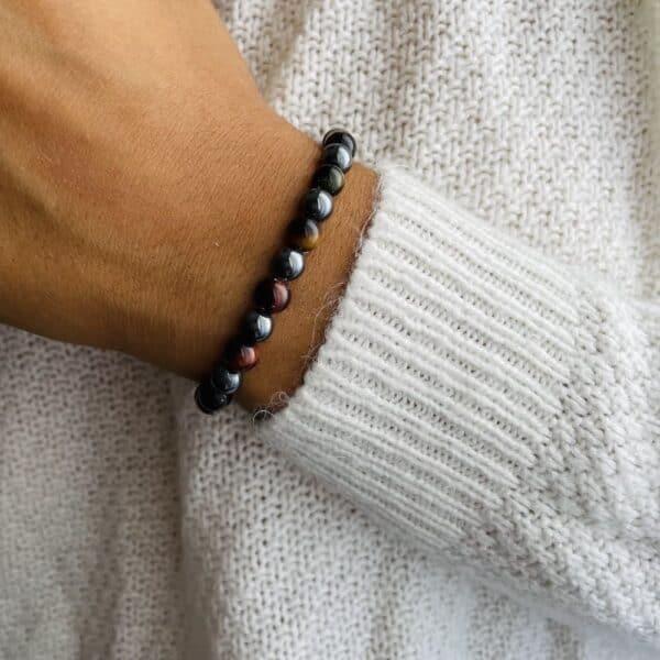 Bracelet Elastic'perles poignet ancrage