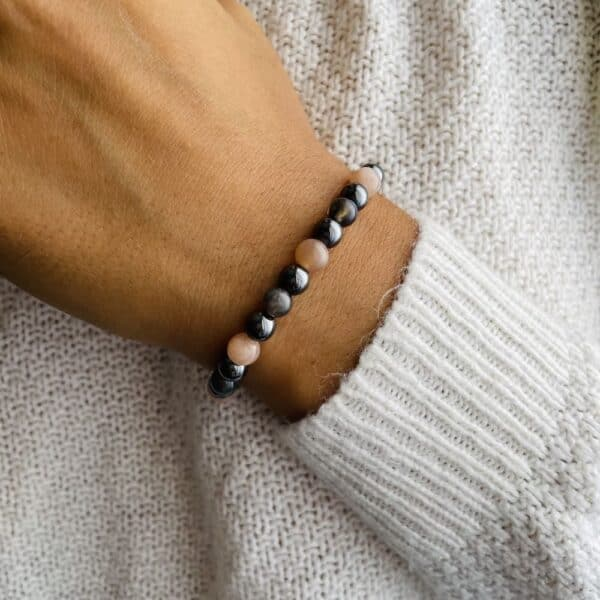 Bracelet Elastic'perles poignet bonheur