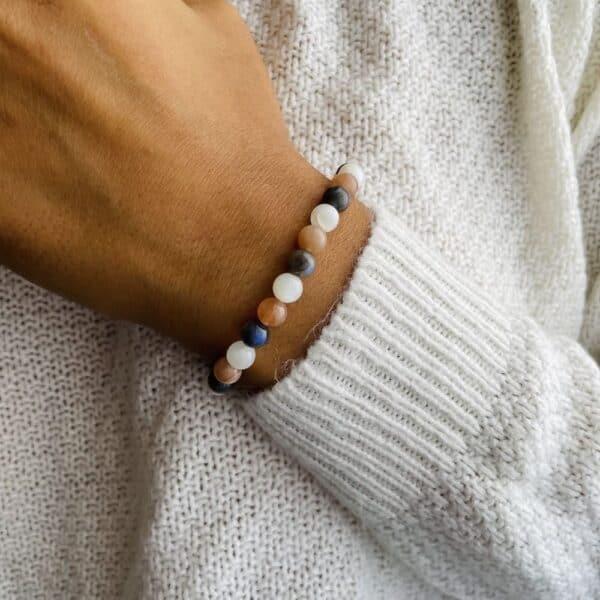 Bracelet Elastic'perles poignet creativite
