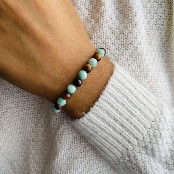 Bracelet Elastic'perles poignet equilibre
