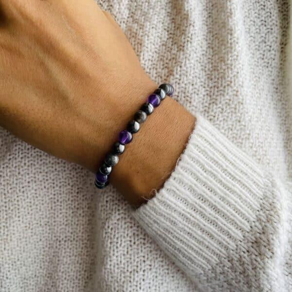 Bracelet Elastic'perles poignet eveil