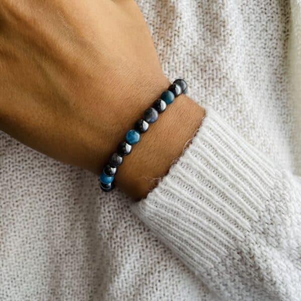 Bracelet Elastic'perles poignet expression