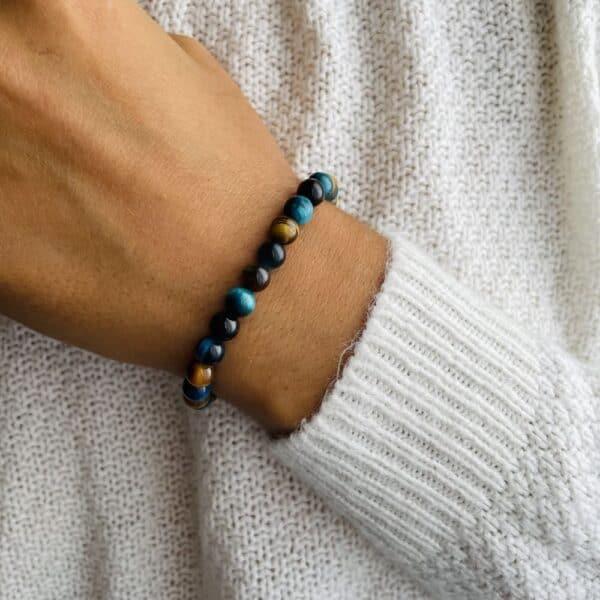 Bracelet Elastic'perles poignet harmonie
