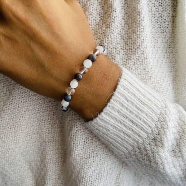 Bracelet Elastic'perles poignet intuition