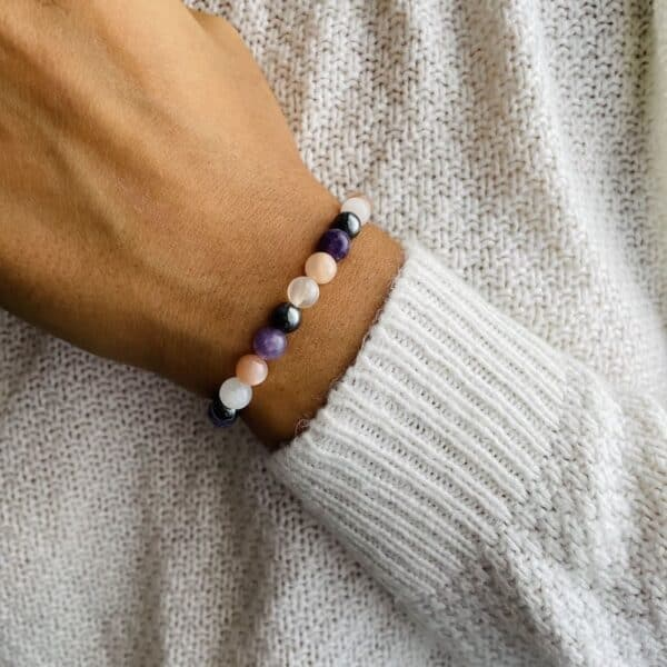Bracelet Elastic'perles poignet joie