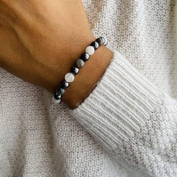 Bracelet Elastic'perles poignet receptivite