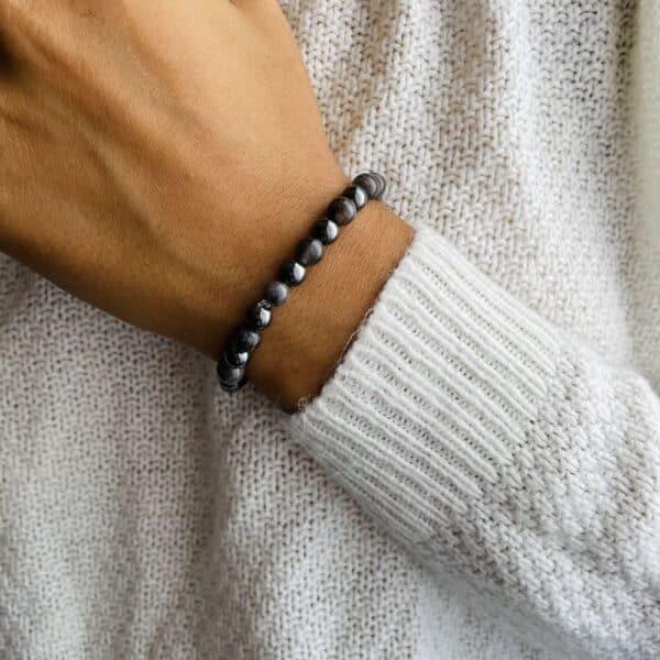 Bracelet Elastic'perles poignet securite