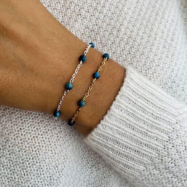 bracelet anthéa oeil de faucon 4mm
