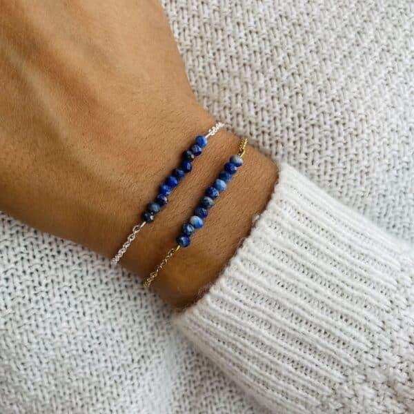 lapis-lazuli poignet